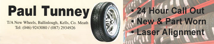 Paul Tunney Tyres